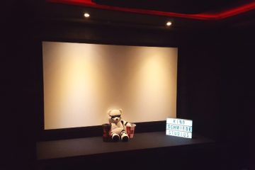 Kinoschmiede Kinoleinwand
